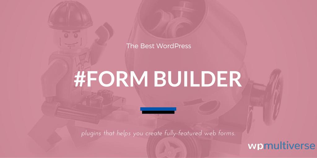 5 Best WordPress Form Builders 2017 (Free & Paid) | SoftwareFindr