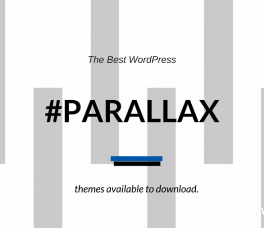 Best Parallax Scrolling WordPress Themes 2018