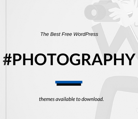 Best Free WordPress Photography Themes 2020