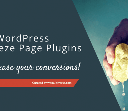 Best WordPress Squeeze Page Creator Plugins 2020