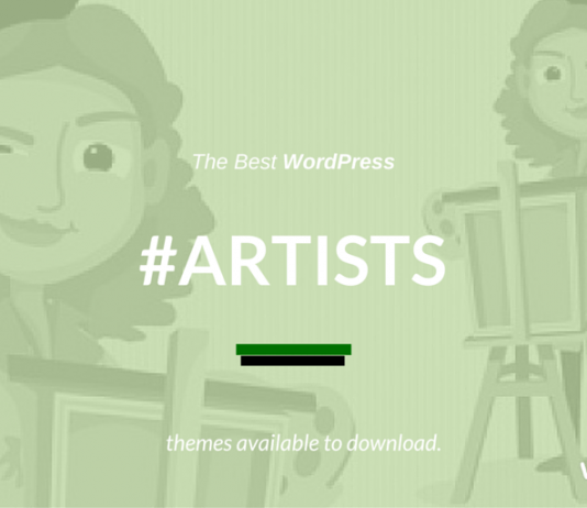 Best WordPress Themes for Artists & Creative Agencies 2019