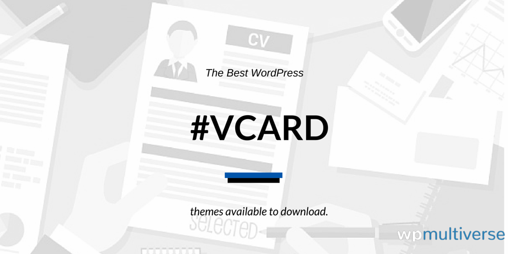 29 Free/Paid WordPress vCard Themes 2018